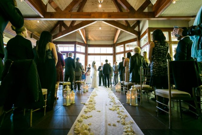 Ceremony venue for an article on wedding officiant tips