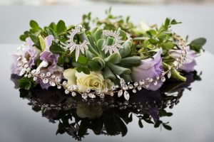 Flowers and accessories for a 26 Bridge wedding