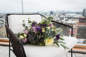 Bouquet for a 26 Bridge wedding