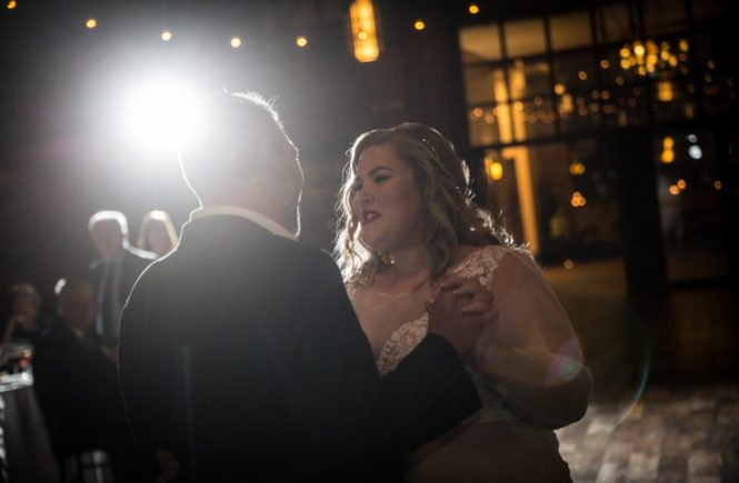 First dance at a 26 Bridge wedding