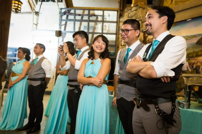 Parent dances at a Bear Mountain Carousel wedding
