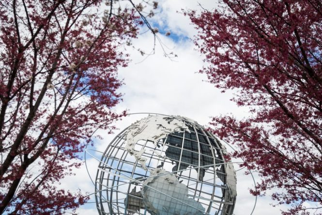 Flushing Meadows Corona Park in Queens