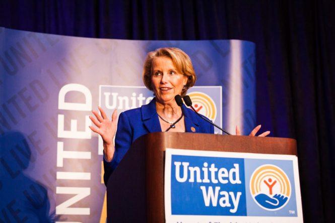Speaker at United Way event