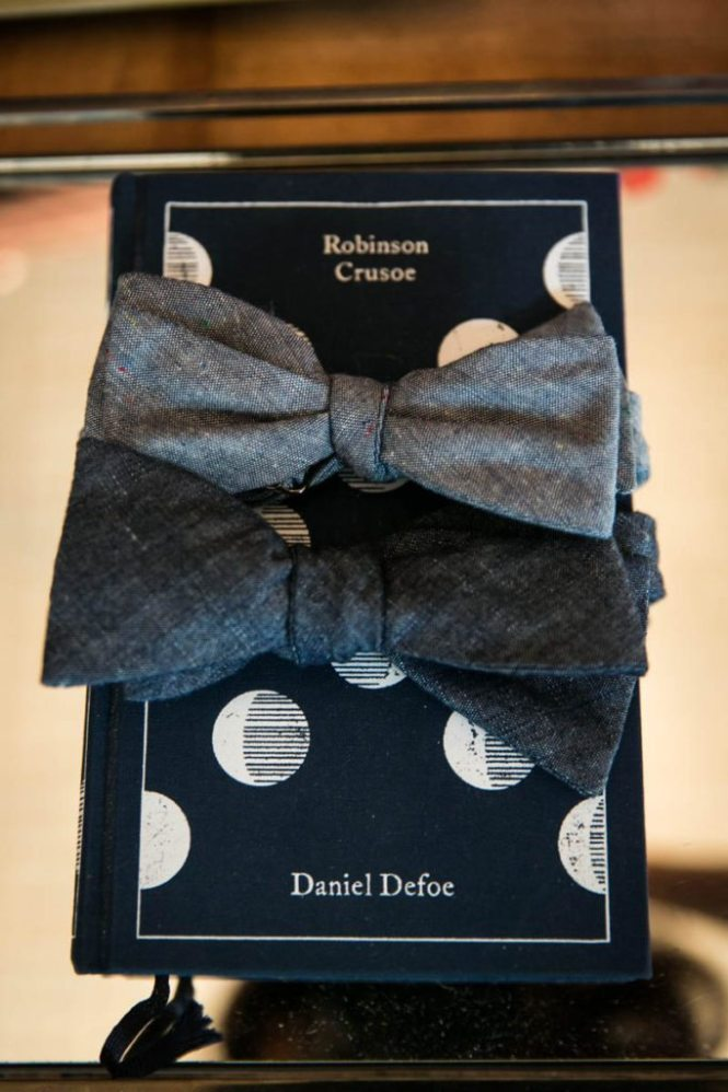 Detail of bowties for sale