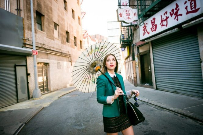 Chinatown fashion shoot by NYC photographer, Kelly Williams