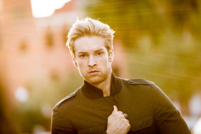 Florida fashion shoot photos of model Nicholas Kolasinski by NYC photographer, Kelly Williams