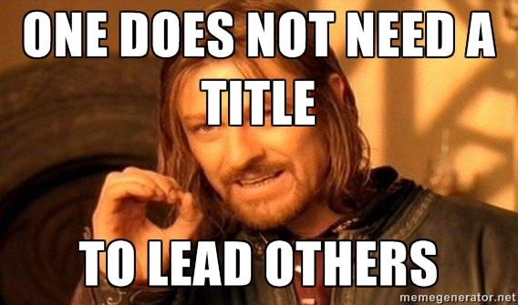 Leader: Yeah, another Boromir meme.