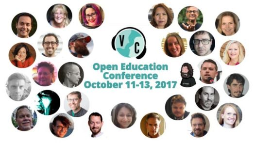 Image of VConnecting post about our participation at Open Education 2017.