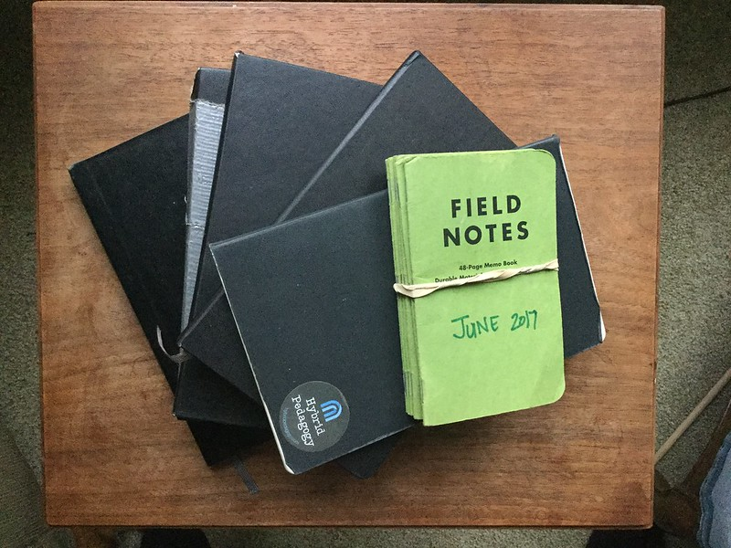 """Picture of """"Field Notes"""" journals by Brian Bennett"""