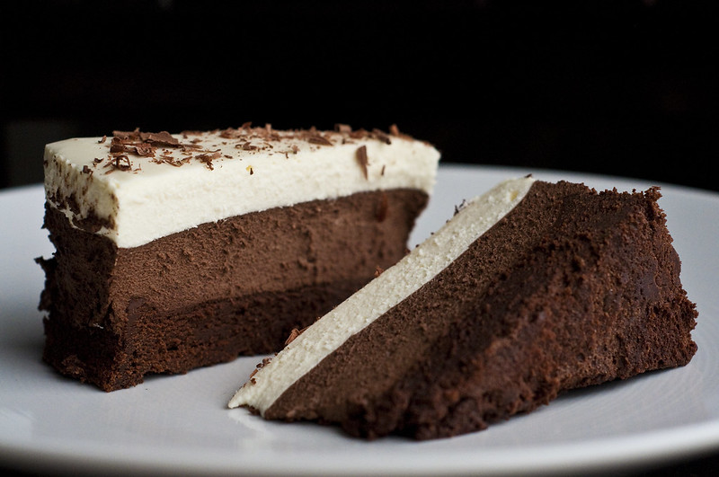 A picture of Triple Chocolate Mousse Cake