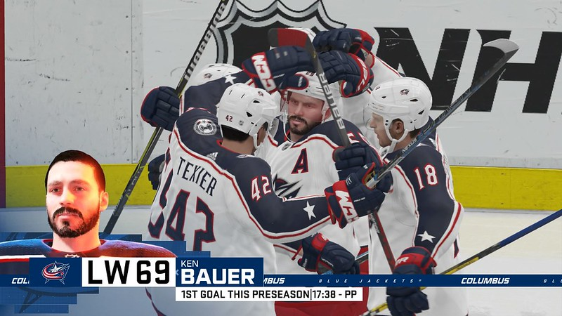 Screenshot from NHL 20