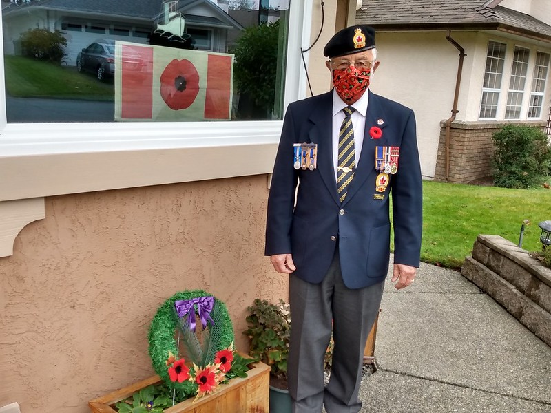 My dad, Remembrance Day 2020