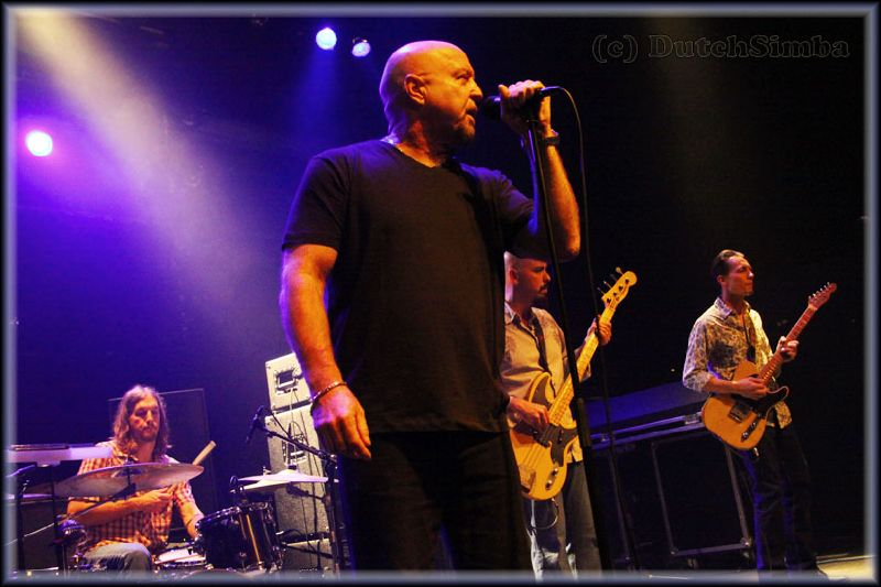 Image of the Fabulous Thunderbirds in concert in 2010.