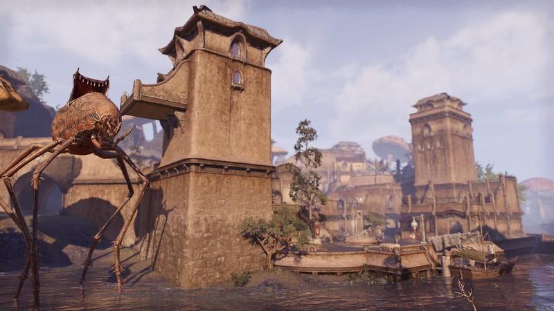 Screenshot of  Elder Scrolls Online - Morrowind