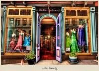 Dress Shop In SoHo, New York City