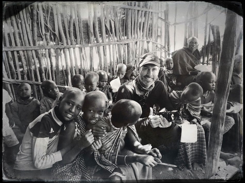 Tanzania Masai Children - Giving
