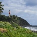 Le phare de la pointe Bel-Air en Sainte-Suzanne
