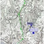Cliquer pour suivre la montée vers Cilaos