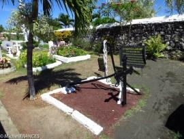 Le carré en souvenir des marins bretons du Ker-Anna