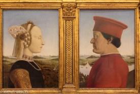 Piero dela Francesca : dyptique des ducs d'Urbin