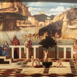Giovanni Bellini : Allégorie sacrée
