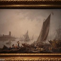 Jean-Baptiste Pillement : Le port (1781)