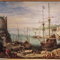 Paul Brill : vue du port