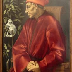Pontormo : portrait de Côme l'Ancien
