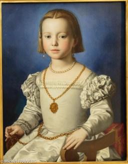 Bronzino : portrait de Bia