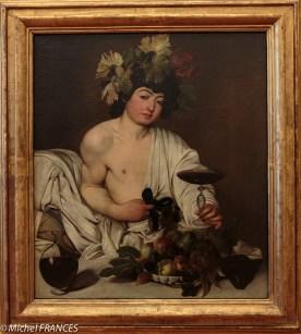 Caravage : Bacchus adolescent