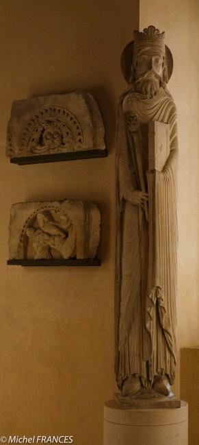 le Roi Salomon (?) dernier quart du XIIe siècle