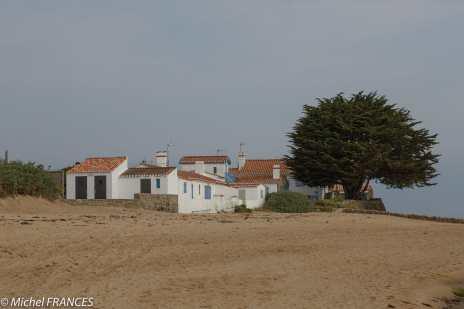 La plage du Grand-Vieil à Noirmoutier