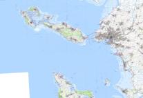 """Assemblage du scan 25 de l'IGN, dite """"carte topographique"""""""