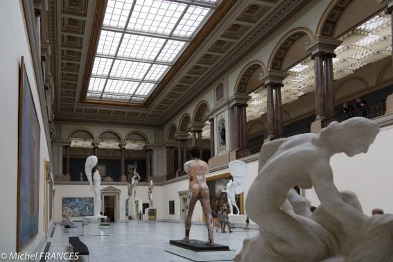L'accueil des Musées Royaux des Beaux-Arts