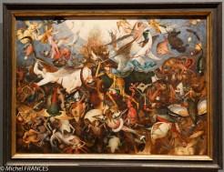 La chute des anges rebelles de Pieter Brueghel l'ancien
