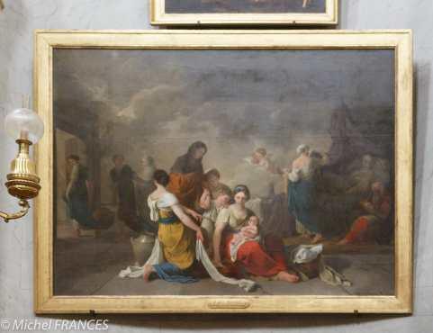 Joseph-Benoît Suvée - La naissance de la Vierge - 1779
