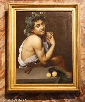 Le Caravage - Autoportrait en costume de Bacchus - 1592-1595