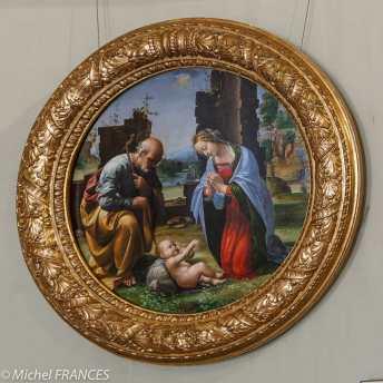 Fra Bartolomeo, L'Adoration de l'Enfant - 1499 - huile sur toile