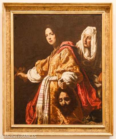 Cristofano Allori - Judith et la tête d'Holopherne