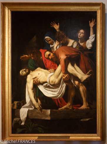 Le Caravage - La déposition de la Croix
