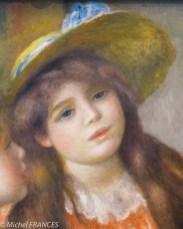 Pierre-Auguste Renoir - Portrait de deux fillettes - 1890-1892