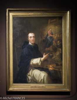 Jean André dit Le Frère André - Autoportrait - vers 1728 et 1731
