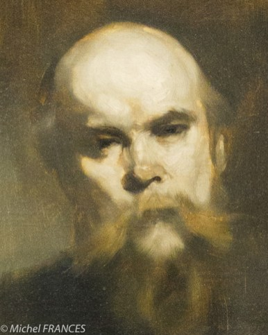 Eugène Carrière - Au poëte Verlaine