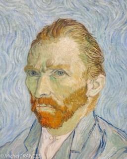 Vincent Van Gogh - Autoportrait -