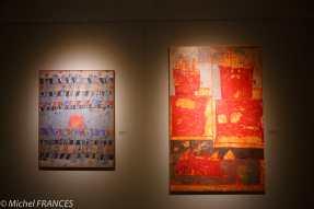 Au musée des Beaux Arts, on est accueilli par François DILASSER