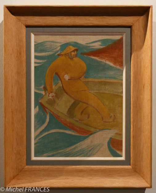 Henri-Gabriel IBELS - Le pêcheur