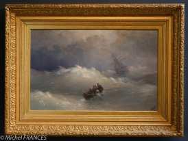 Ivan Konstantinovich AÏVAZOVSKY - La vague - 1886