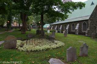 L'église St-Matthew sur la rue St-Jean