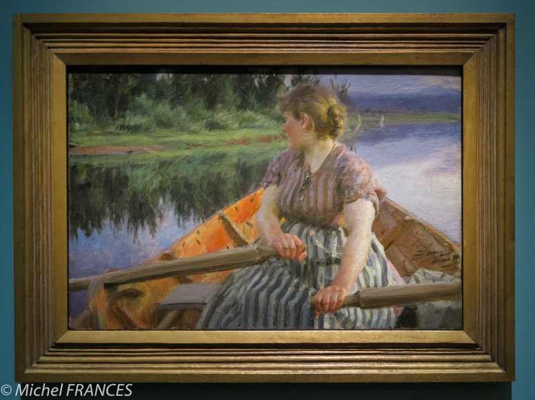 Expo Anders Zorn Petit Palais - Minuit - 1891 - huile sur toile