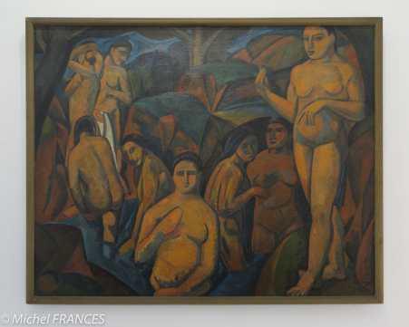 Musée d'art moderne de paris - Expo Derain, Balthus, Giacometti - André Derain - Baigneuses